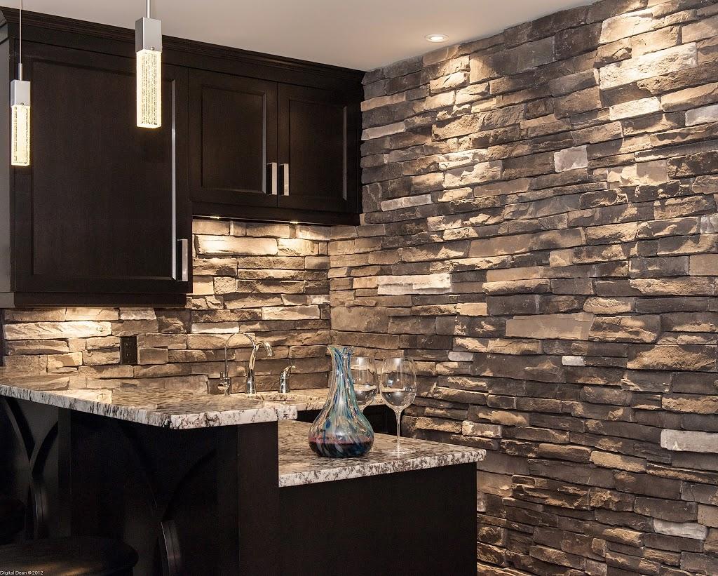 Stone Backsplashes & Interior Walls - Hearth and Home Distributors ...