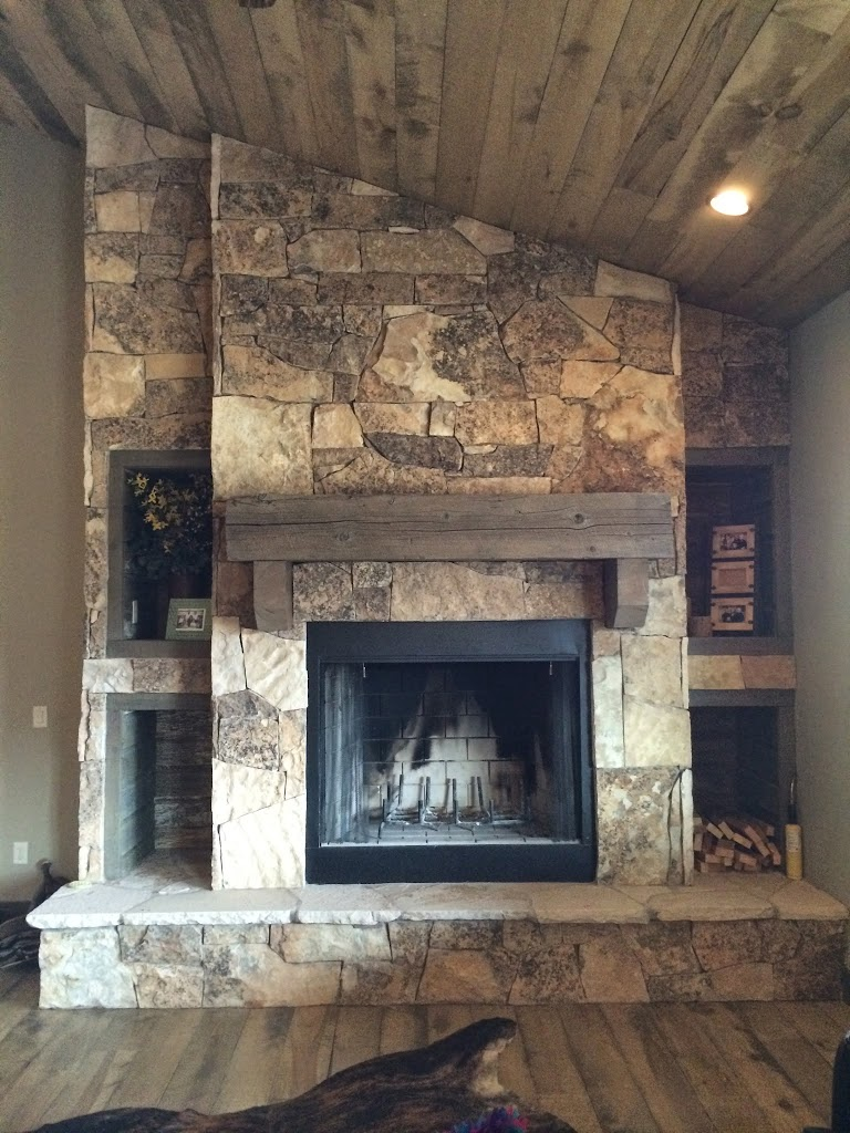 This Fireplace Below Resides In Our Orem Place Hearth Division Showroom