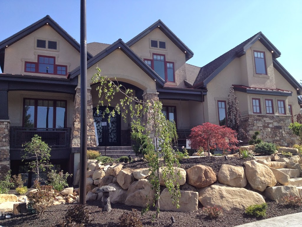 16 days of the utah valley parade of homes natural for Stone and brick