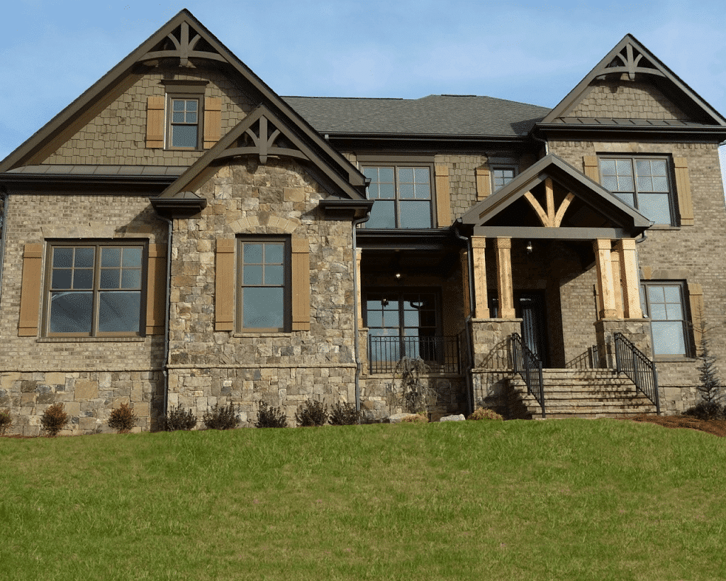 Traditional Style Home on adding on to a ranch style house