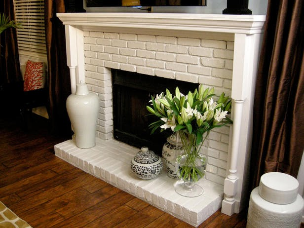 Here Are Some Other Brick Fireplaces We Have Seen That Used White Surround Mantels