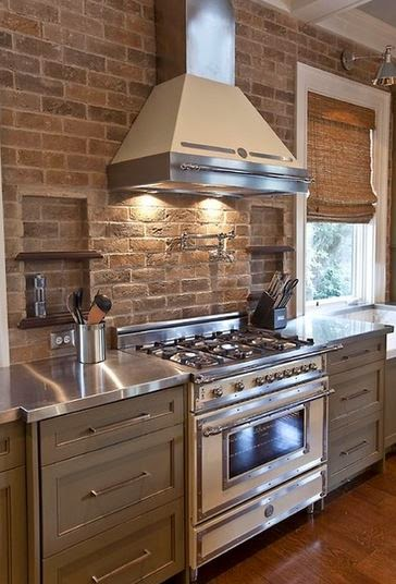 Brick Applications In Your Kitchen Hearth And Home