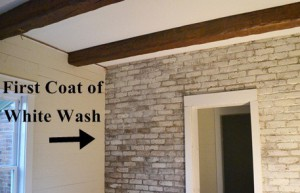 How To White Wash Or Slurry Coat Your Brick Hearth And