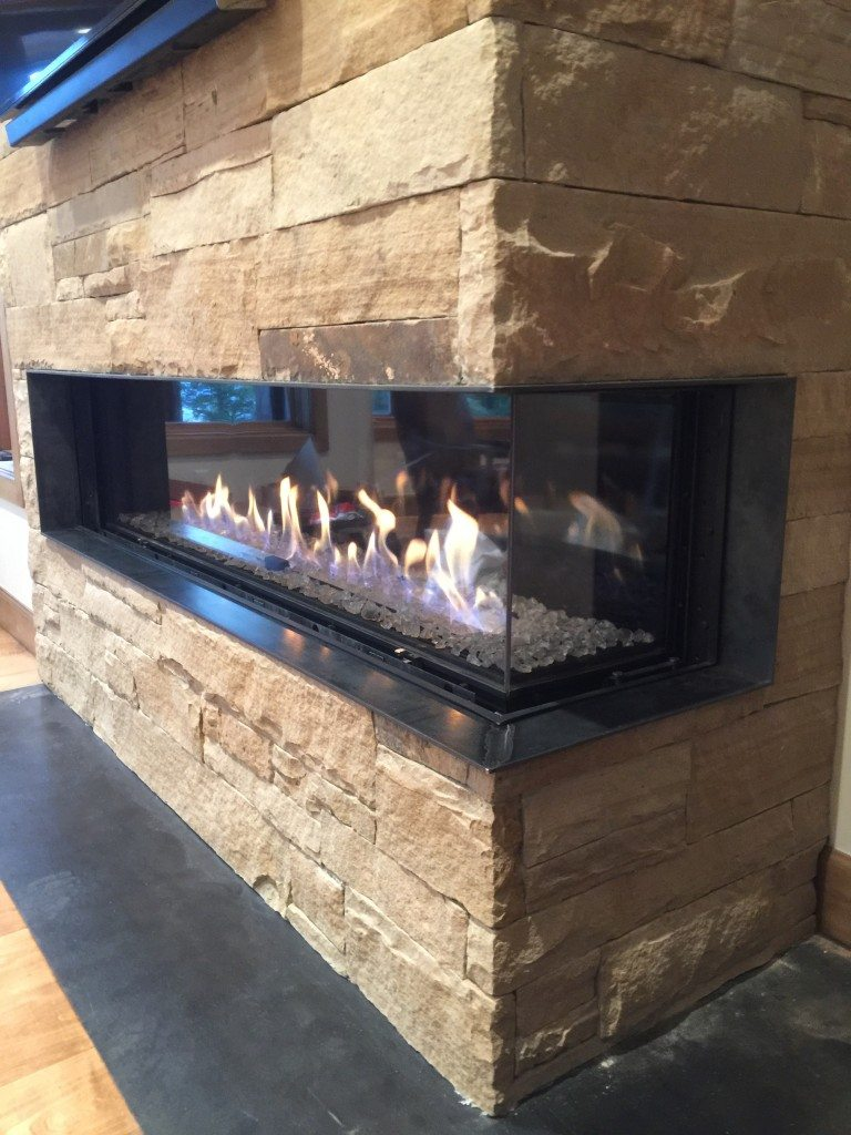 Modern Fireplaces: Peninsula & Wrap Around Units - Hearth and Home ...