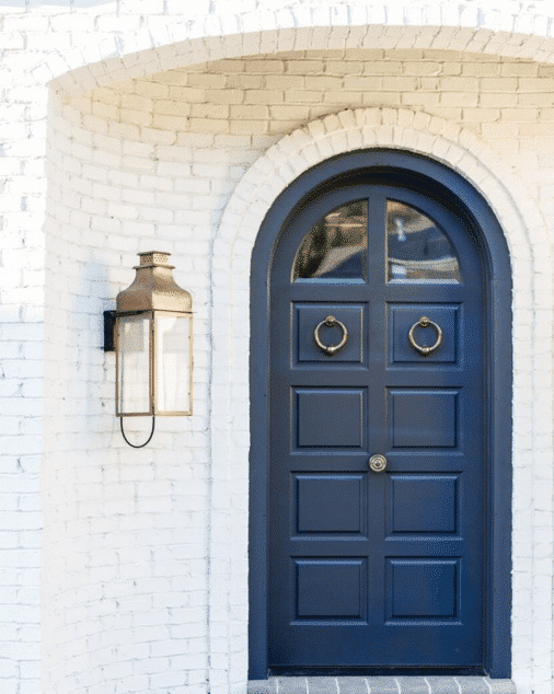 Trend Watch Navy Blue Front Doors Hearth And Home