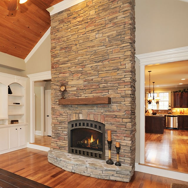 Visit our Ogden Fireplace Showroom! Over 40 burning units! Ogden Gas Fireplaces
