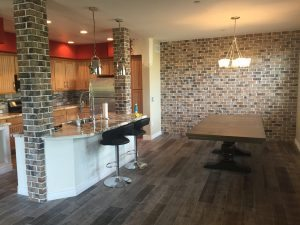 Seven Interior Thin Brick Walls To Base A New Years Resolution Off Of Hearth And Home