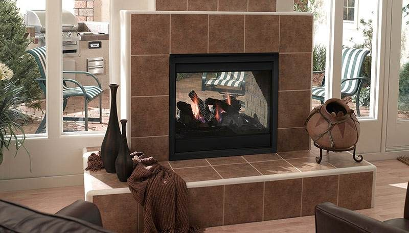 Quadra-Fire Twilight II Gas Fireplace