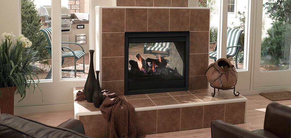 Quadra-Fire Twilight II Gas Fireplace
