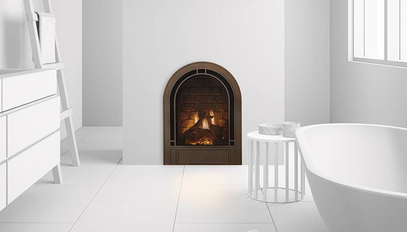 Heat & Glo Crescent II Gas Fireplace