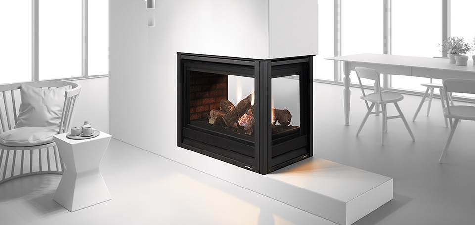 Heat U0026 Glo Pier 36TR See Through Gas Fireplace