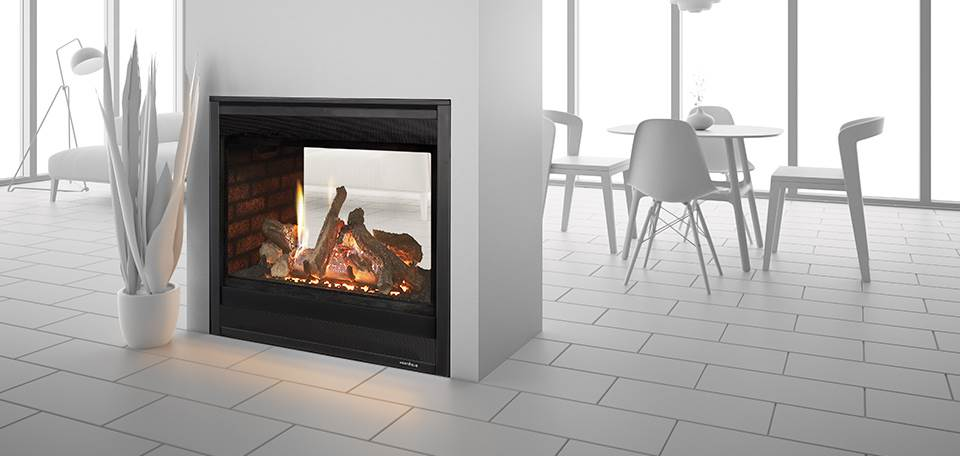 Heat U0026 Glo ST 36 See Through Gas Fireplace