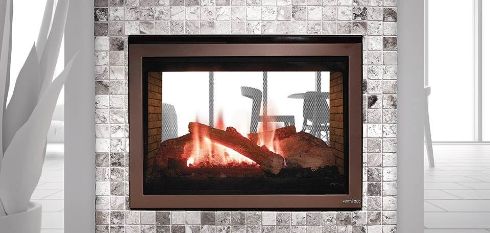 Heat & Glo ST-550T See-Through Gas Fireplace