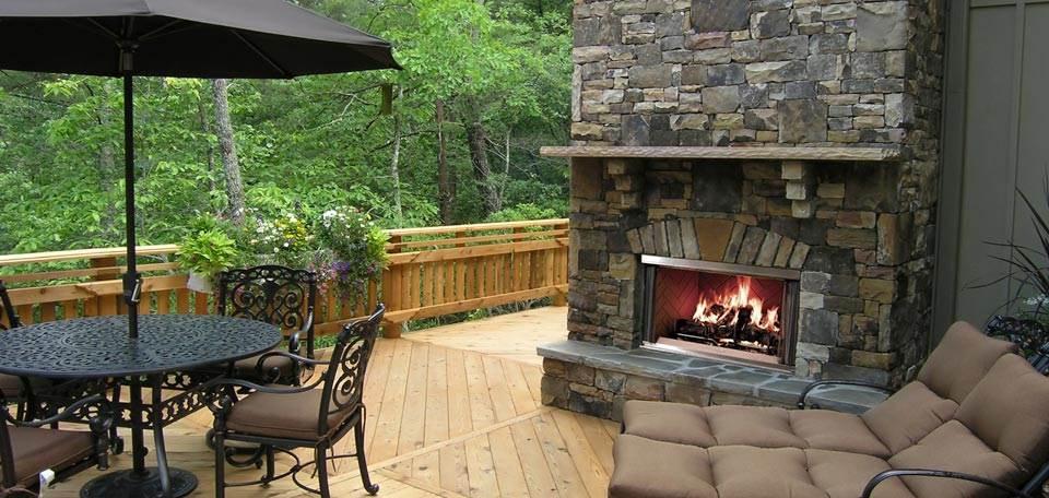 Quadra-Fire Montana Wood Fireplace