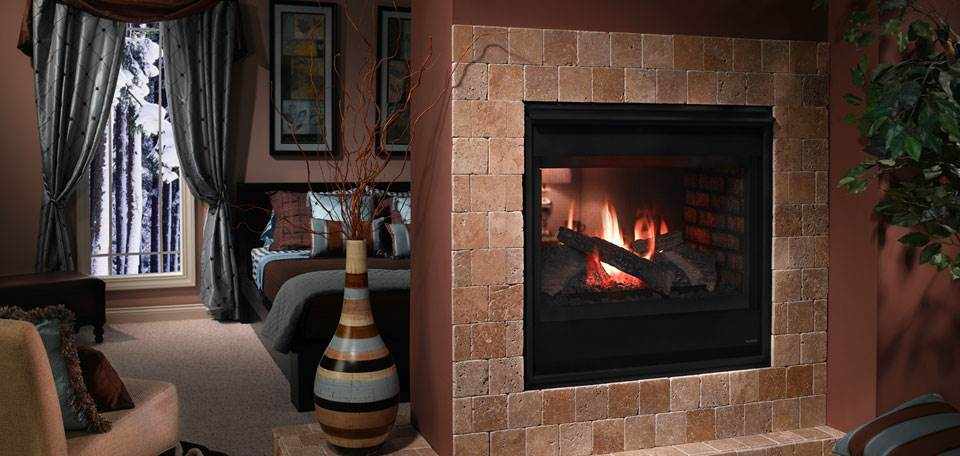 Heatilator See Through Gas Fireplace Hearth And Home