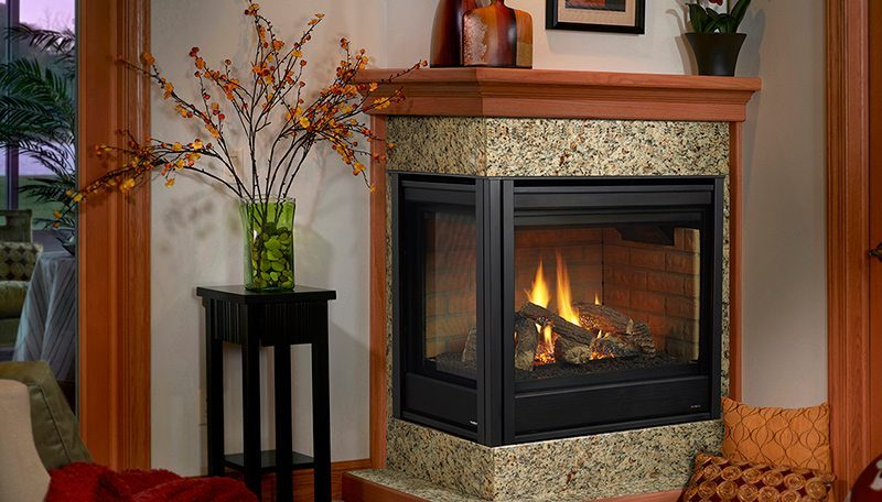 Heatilator Corner Gas Fireplace