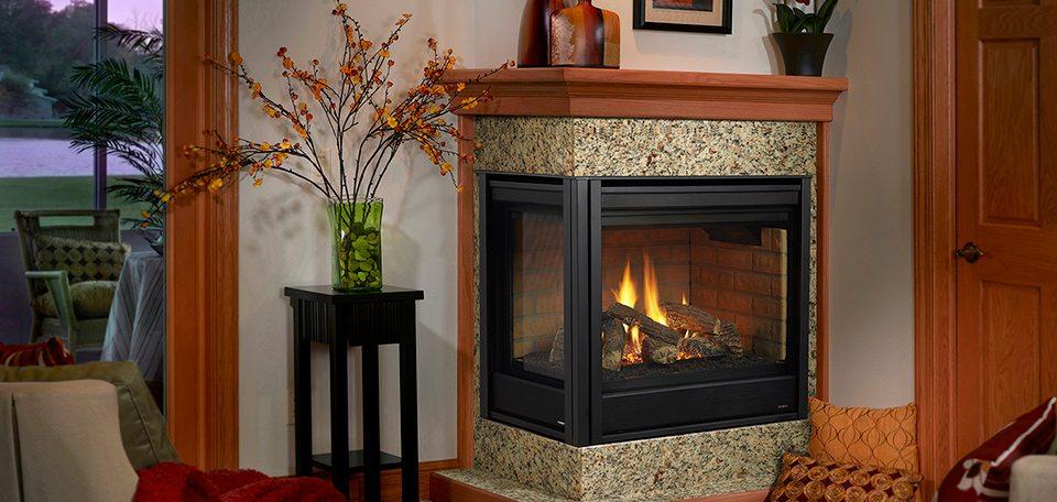Heatilator Corner Gas Fireplace - Hearth and Home ...