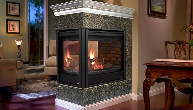 Heatilator Peninsula Gas Fireplace