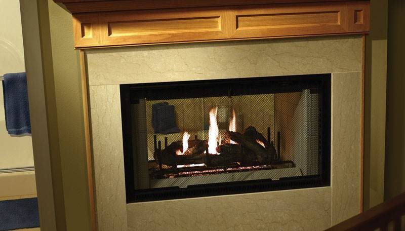 Heatilator Multi-sided Wood Fireplace
