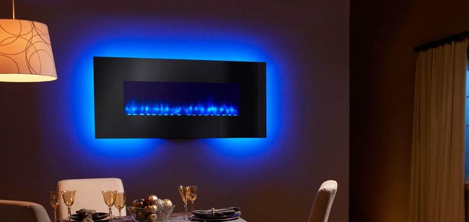 Quadra-Fire SimpliFire Wall-Mount Electric Fireplace Series