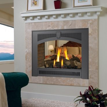 Lopi 864 See Thru Gas Fireplace Hearth And Home Distributors Of