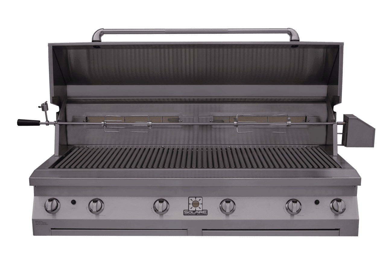 Rasmussen 56 Quot Solaire Infrared Grill With 4 Main Burners