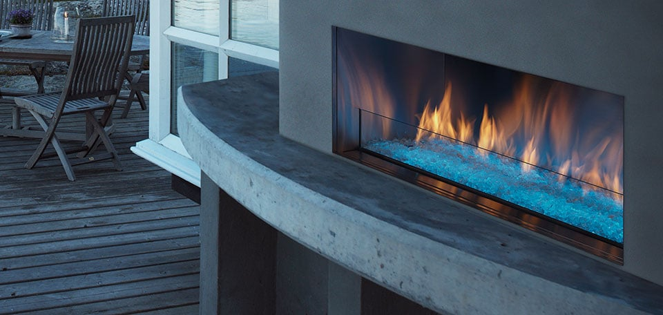 Heat Amp Glo Outdoor Lifestyles Palazzo Gas Fireplace