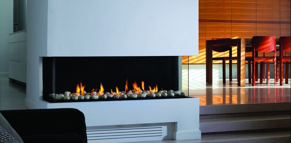 Ortal Three Side Clear 110 Ts Hearth And Home