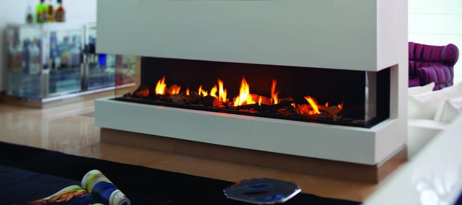Ortal Three Side Clear 200 Ts Hearth And Home