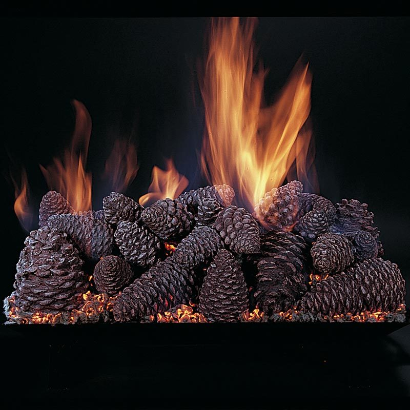 Vented Gas Logs - Logs Only Double Face