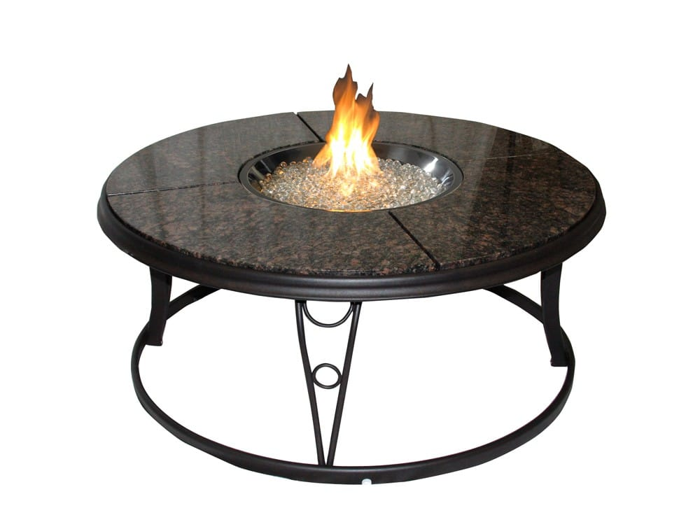 Outdoor Greatroom Company 42 Quot Granite Fire Pit Table