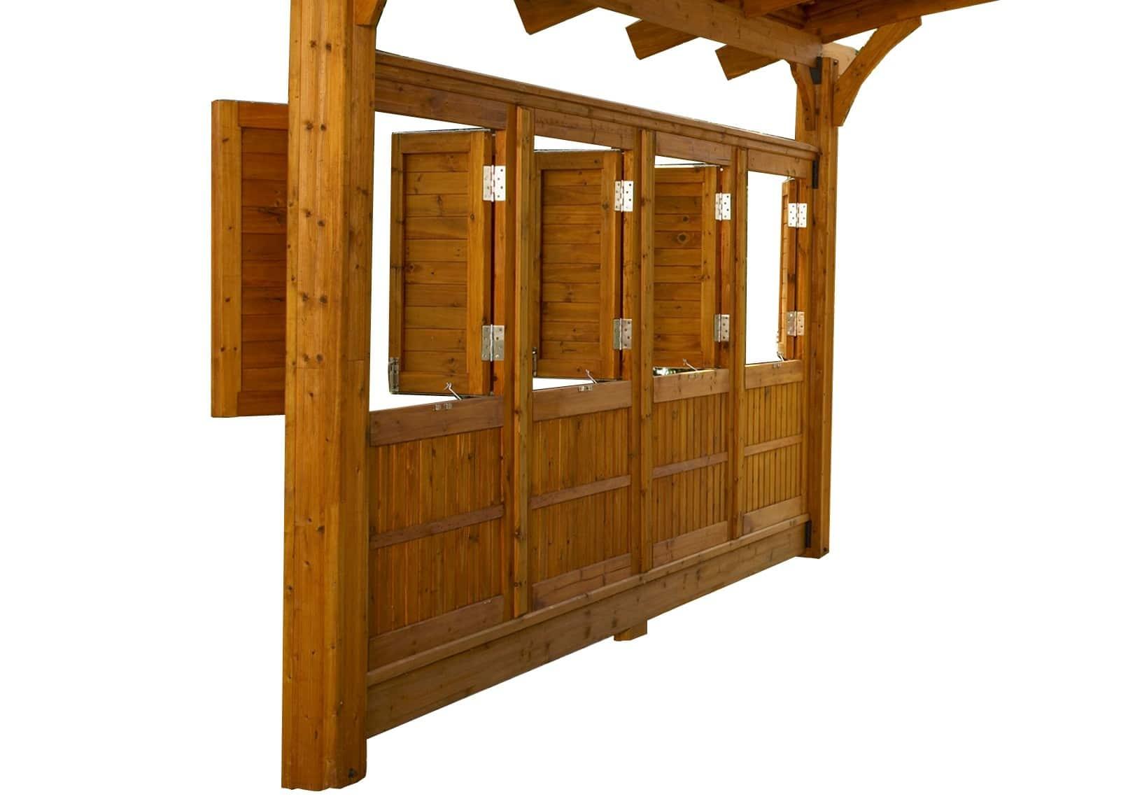Outdoor Greatroom Company Sonoma16 Redwood Pergola Wall ...