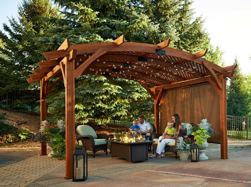 Outdoor Greatroom Company Sonoma 1216 And 16 Pergola