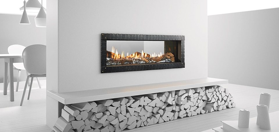 Heat Glo Mezzo See Through Gas Fireplace Hearth And Home