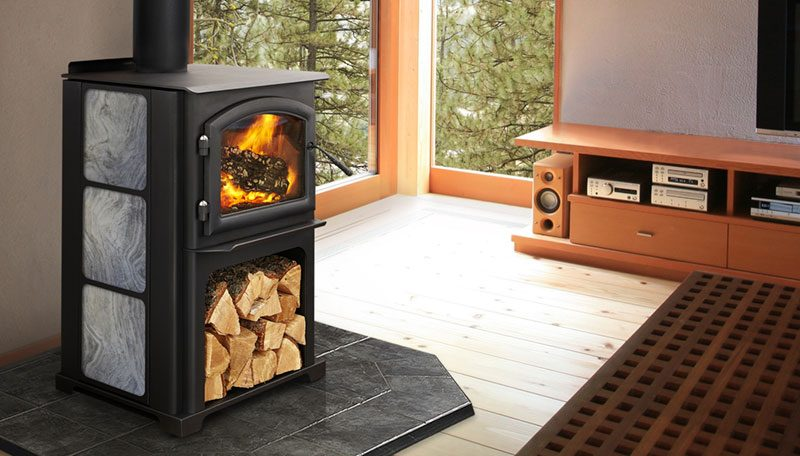 Quadra-Fire Discovery II Wood Stove - Avalon Olympic Wood Stove - Hearth And Home Distributors Of Utah, LLC