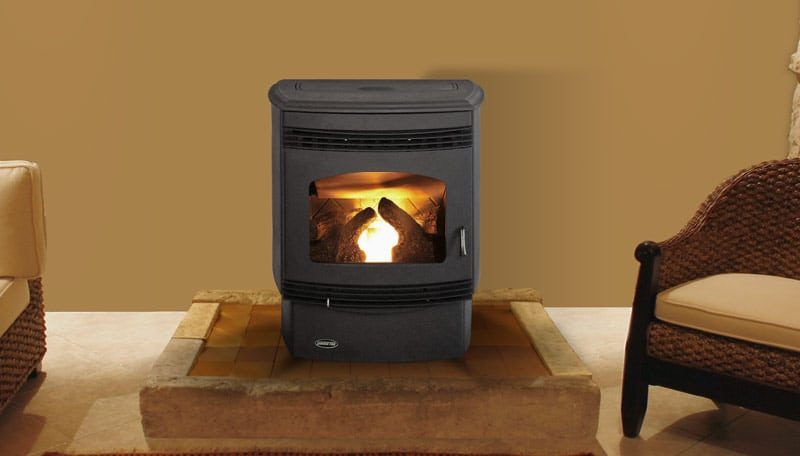 Quadra-Fire Santa Fe Pellet Stove - Avalon Olympic Wood Stove - Hearth And Home Distributors Of Utah, LLC