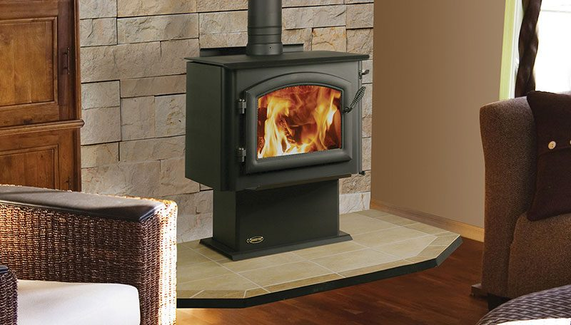Quadra-Fire 4300 Millennium Wood Stove - Avalon Olympic Wood Stove - Hearth And Home Distributors Of Utah, LLC