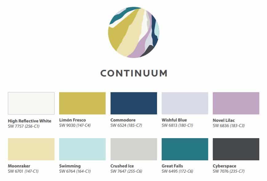 Continuum Color Scheme